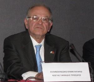 Hellenic-Chinese Chamber President Kostantinos Yiannidis.