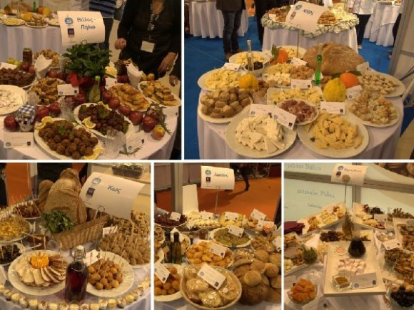 """At 2013 HORECA, Each destination's breakfast menu was also presented in separate scheduled events held in the main """"Greek Breakfast"""" pavilion."""