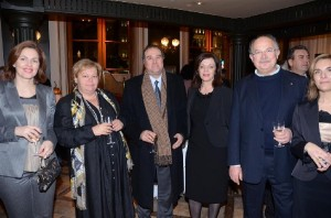 Greek National Tourism Organization President Christos Pallis with members of the HATTA's Board of Directors.