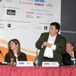 Zafiris Trikalinos, president of Trikalinos company, showed a slide show involving the international popularity of his Grey Mullet Bottarga (known in Greece as Avgotaraho) brand.