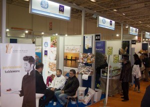 """Greek Breakfast"" stands at HORECA, Hall 4."
