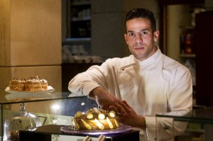 Pastry Chef Yiorgos Bahtis from the NJV Athens Plaza Hotel.