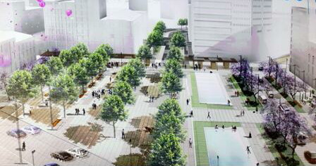 "Omonia Square - ""One step beyond"" proposal by Okra."
