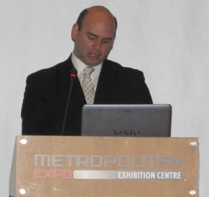 Greek-Brazilian Chamber President Kimon Patkos.