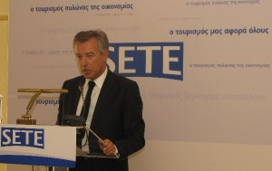President of the Association of Greek Tourism Enterprises (SETE), Andreas Andreadis.