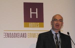President of the Hellenic Chamber of Hotels, Yiorgos Tsakiris