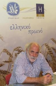 "Giorgos Pittas, supervisor of ""Greek Breakfast"" program."