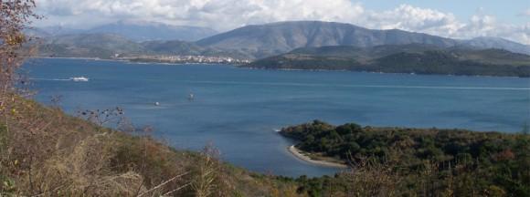 Kassiopi area on Corfu.