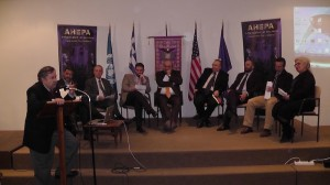 AHEPA round table discussion.