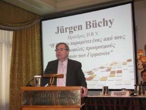 President of the German Travel Association (DRV) Jürgen Büchy.
