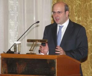 Transport Minister Kostis Hatzidakis