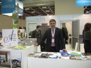 Athens Convention Bureau's George Angelis manned the Greek capital's stand at ITB Berlin 2013.