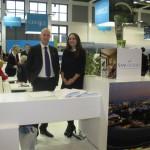 Sani Resort - Antonis Avdelas, marketing and sales manager and Irini Tioupala, sales manager Germany, Austria, Switzerland.