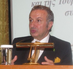 President of the Association of Turkish Travel Agencies (TURSAB) Başaran Ulusoy.