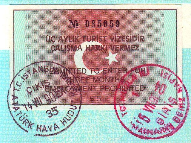 Turkey Travel Visa Eu