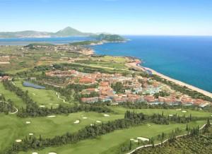Costa Navarino luxury resort.