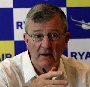Ryanair's deputy chief executive officer, Michael Cawley.