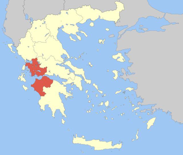 Region Western Greece