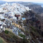 "Santorini: Tripadvisor's #7 Best Island in Europe – ""Candy-colored houses carved into cliffs, sapphire waters, gleaming white buildings topped with half-spheres the color of a stormy sky...."""