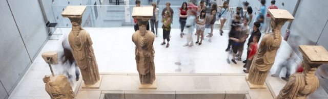 The new Museum of Acropolis,
