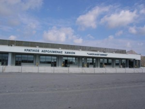 Chania Airport.