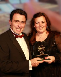 Vista Events' managing director, Panos Fragakis and sales and marketing director, Rena Gini.
