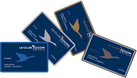 Your Le Club AccorHotels card is also available on the AccorHotels application **Subject to availability in the hotels participating in the Le Club AccorHotels loyalty scheme. ***Offer valid for one night for an amount less than or equal to €40 in hotels participating in the Le Club AccorHotels loyalty programme. For nights above €