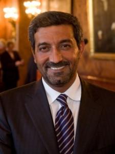 Shaikh Ahmad Bin Saeed Al Maktoum, President of Dubai Civil Aviation and Chairman and Chief Executive of Emirates airline and Group.
