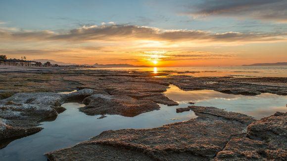 Hersonissos at sunset. Photo credit: Stian Rekdal
