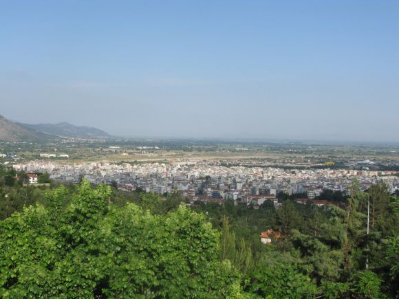 Xanthi from a distance.