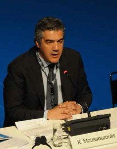 Greek Shipping Minister Konstantinos Moussouroulis