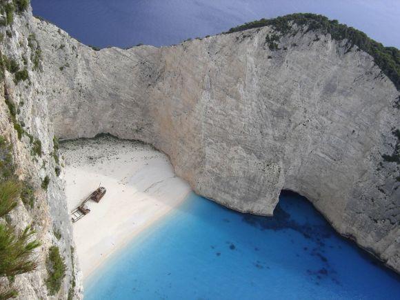 Navagio (Shipwreck) Beach, Zakynthos.