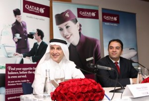 Qatar Airways Chief Executive Officer Akbar Al Baker.