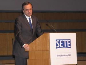 Greek PM Antonis Samaras.