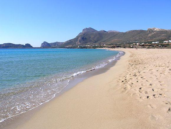 Falassarna Beach, Crete.