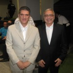 The Association of Greek Tourism Enterprises (SETE) General Manager George Drakopoulos and Stavros Daliakas.