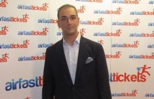 Airfasttickets President Nikos Koklonis