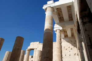Propylaea Central Building in Athens was voted the public choice award winner