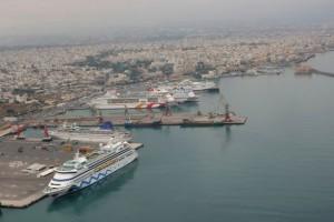Heraklio Port.