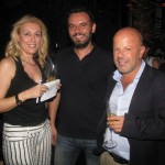 Erianna Zografou (Air France KLM-Skyteam), Yiannis Babalis (Magna Travel) and Miltos Mouzakis (Magna Aviation).