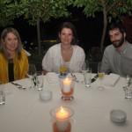 Vicky Spyropoulou (Aeromexico), Penny Rizou (e-Travel) and Vasilis Katsikadis (e-Travel).
