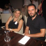 Katerina Gasparis (Delta) and Yiannis Babalis (Magna Travel).