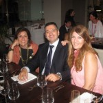 Milka Papaioannou (Air France-KLM), Lefteris Konstantopoulos (Aktina) and Maria Alifragi (Signature Travel).