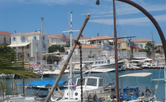 The Old Port of Spetses.