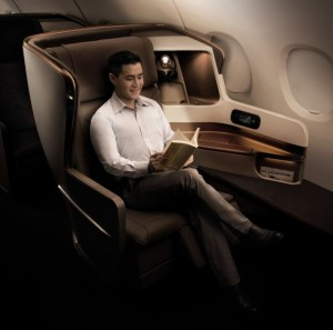 Business Class - The new Business Class seat blends modern sophistication with functionality, to address business travelers' requirements for more flexibility, comfort and privacy.