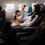 Economy Class - Through the use of innovative design and materials, the new Singapore Airlines Economy Class seat provides additional comfort, with increased personal space and legroom.