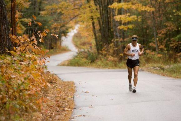 Greek American Supreme Marathon runner, Dean Karnazes.