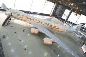 Etihad Cargo liveried B747-8F.