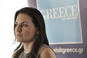 Greek Tourism Minister Olga Kefalogianni. Photo source: ethnos.gr