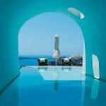 Perivolas Hotel, Santorini. Photo: Condé Nast Traveler